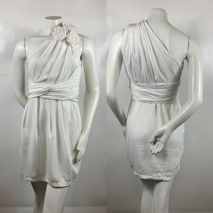 3For$20 MM Couture Miss Me White Flower Dress s:s